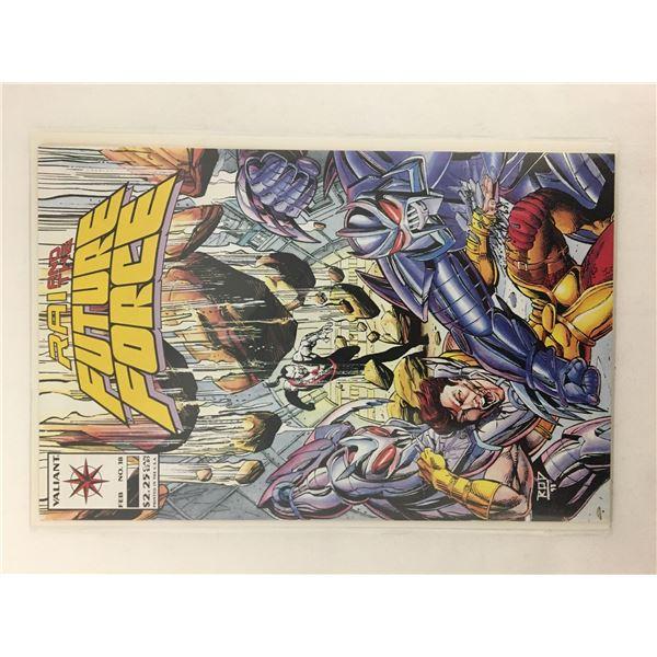 Rai and the future force comic #18