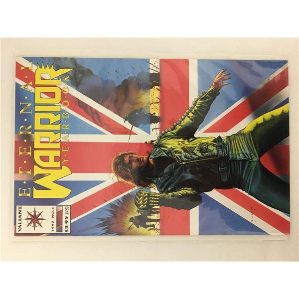 External warrior yearbook comic #1