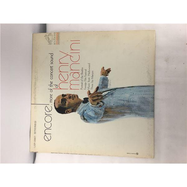 Henry Mancini record