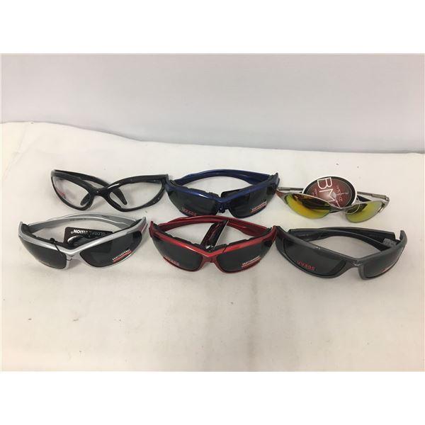 6 pairs of new sunglasses