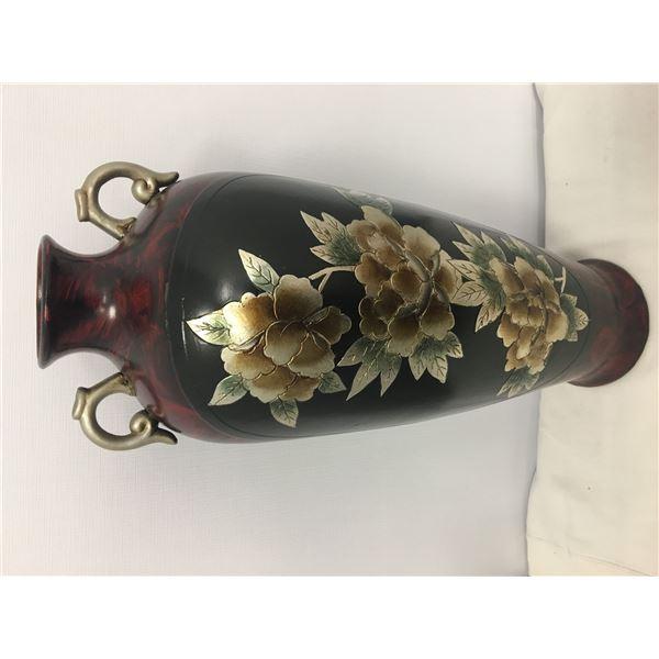 NEW lg vase 2ft red