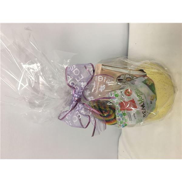 Gift basket egg shell
