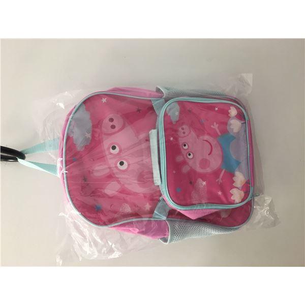 New peppa pig back pack