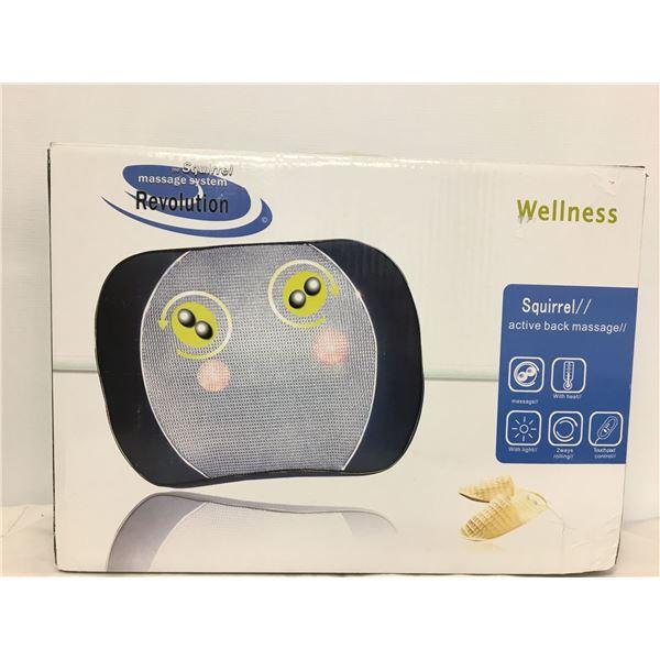 New wellness squirrel massage system