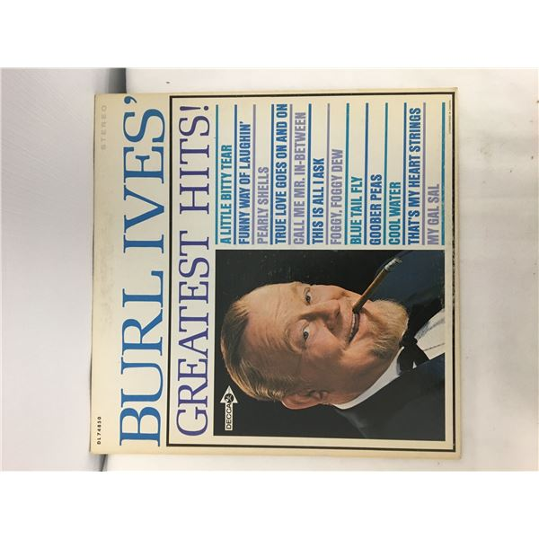 Burl ives record