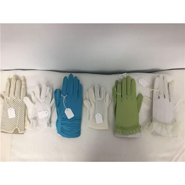 Vintage dress gloves