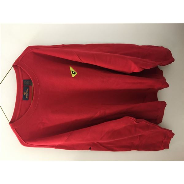 New graff sweater red x large