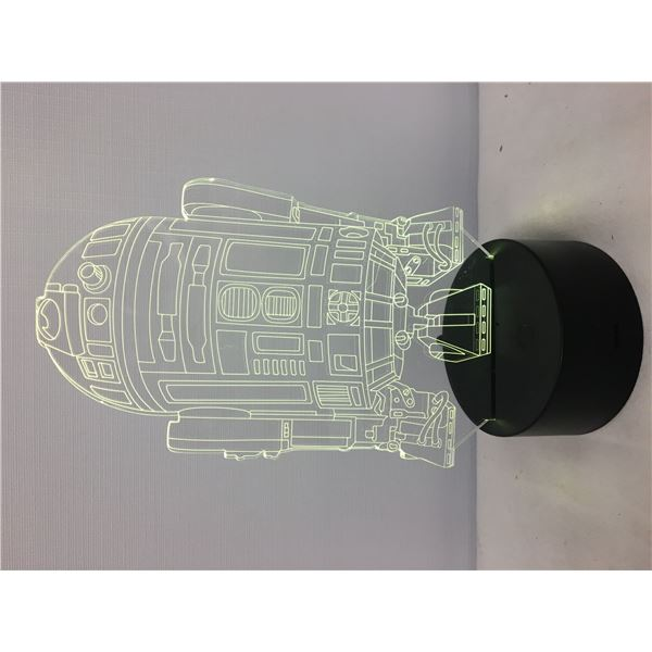 New 3D lamp R2D2