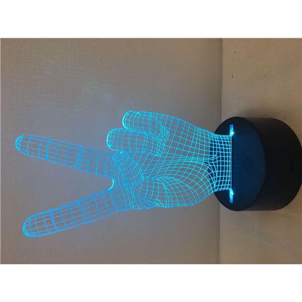 New 3D lamp peace