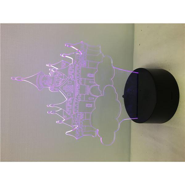 New 3D lamp castle