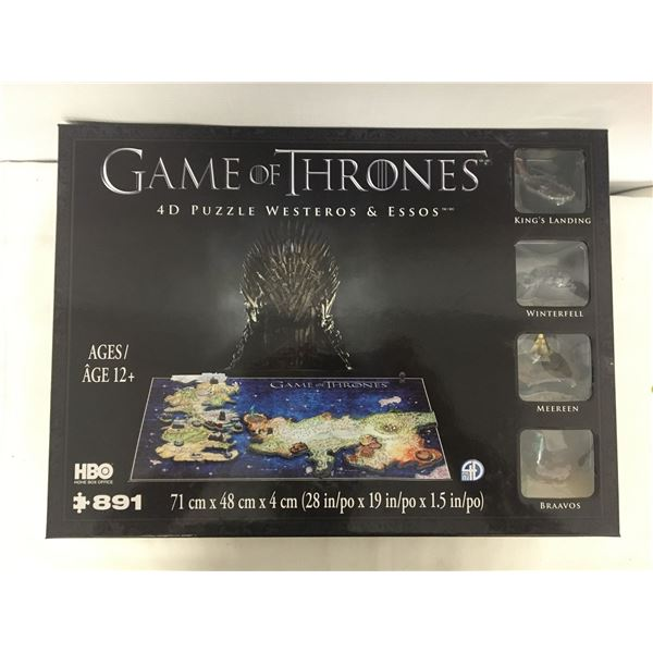New game of thrones puzzle