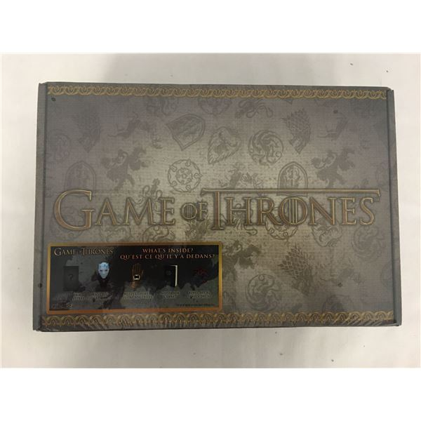 New game of thrones kit