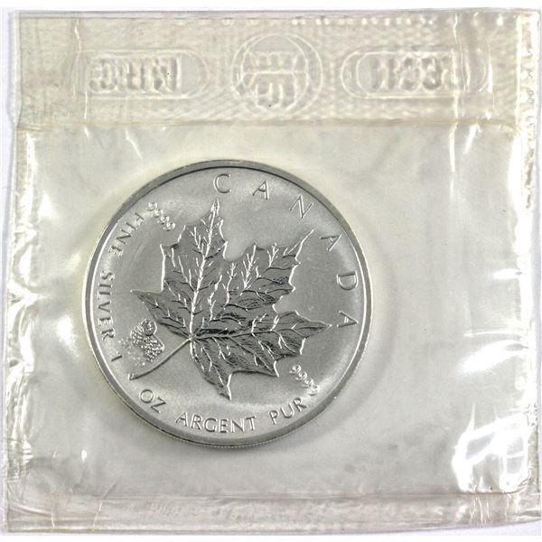 2003 Canada $5 Sheep Privy Mark Silver Maple Leaf in Original Sealed Mint Plastic. TAX Exempt