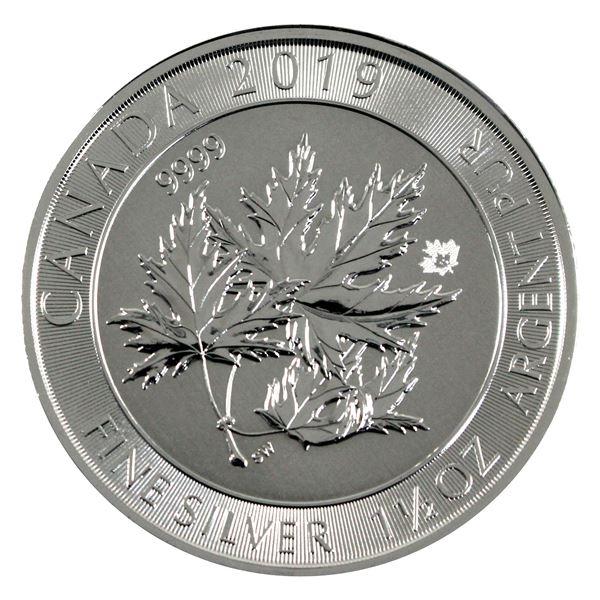 2019 Canada 1.5oz Super leaf Maple .9999 Fine Silver Coin. (TAX Exempt)
