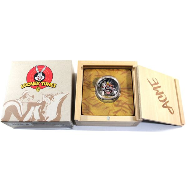 2015 Canada $20 Looney Tunes Classic Scenes Merrie Melodies Fine Silver Coin. TAX Exempt