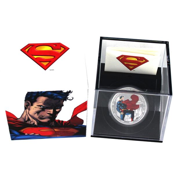 2013 Canada $20 Superman - Man of Steel Fine Silver Coin. (TAX Exempt)