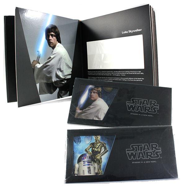 2018 Niue $1 Star Wars Collector Album with R2-D2 & C-3PO and Luke Skywalker 5 Gram Fine Silver Foil