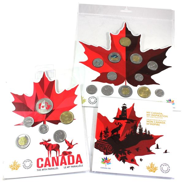 2017 & 2018 Canada Commemorative gift sets: 2017 My Canada, My inspiration 5-coin set, 2017 Canada 1