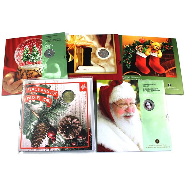 2005-2016 Holiday Gift sets. Dates include 2005, 2006,2007,2008,2016. 5pcs