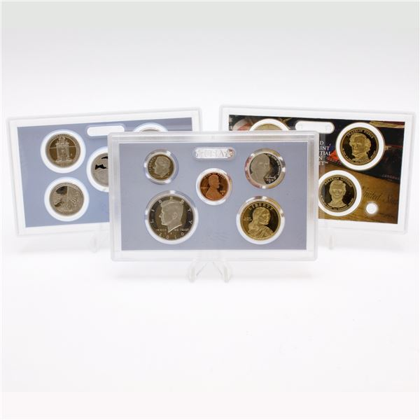 2010 United States Mint 14-coin Proof set with original box and COA.