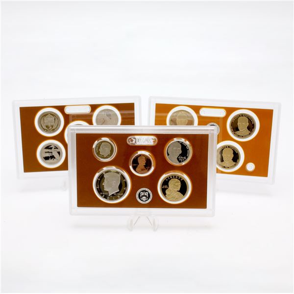 2015 United States Mint 14-coin Proof set with original box and COA.