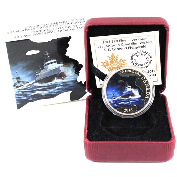 2014 O Canada $10 Fine Silver Coins - Canada Goose, The Igloo & Down By the Old Maple Tree (Maple tr