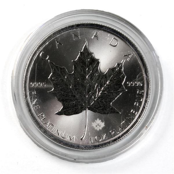 2020 Canada 1oz .9995 Fine Platinum Maple Leaf. (TAX Exempt)