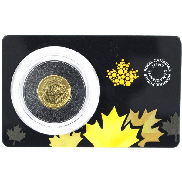 2016 $20 1/10th 5 9's Gold Cougar in original credit card display (Tax exempt)