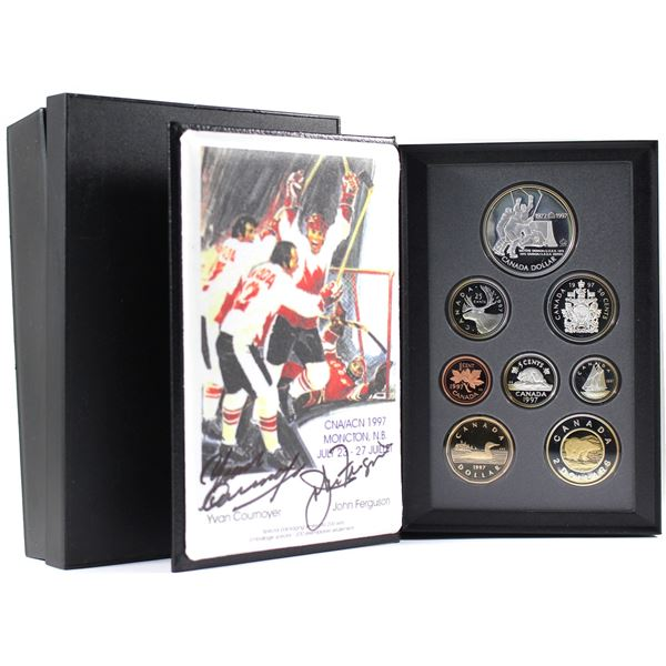 *SIGNED PIECE * 1997 Canada Proof Double Dollar set in all original mint packaging. Signed by Yvan C