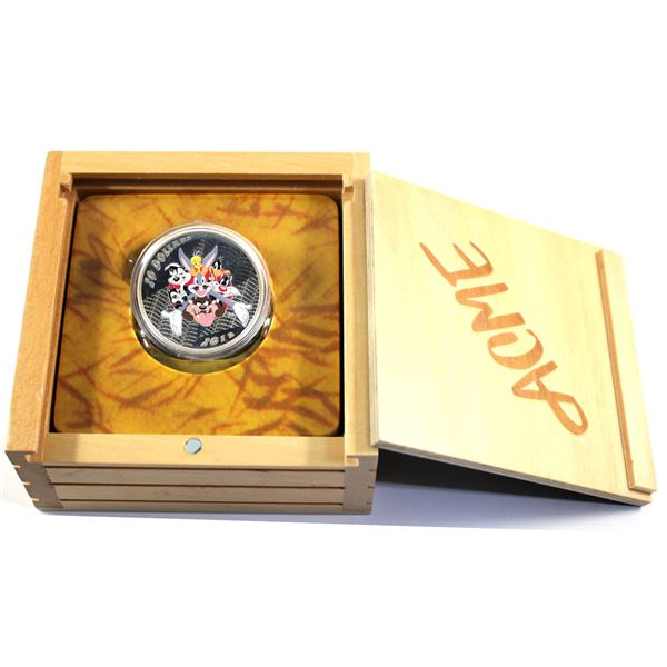 2015 Canada $20 Looney Tunes TM Classic Scenes Merrie Melodies Fine Silver Coin (TAX Exempt). Coin c