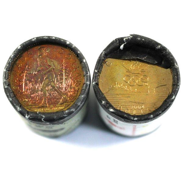 2004 Lucky Roll & 2005 Terry Fox Loon Dollar Original Rolls. 2pcs