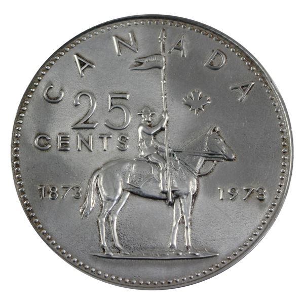 Large 1973 RCMP Holm Pewter Medallion.