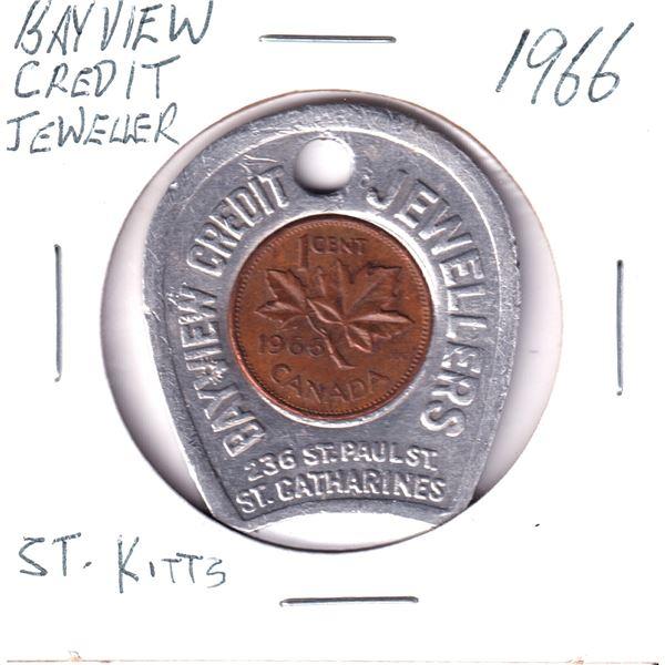 1966 Bayview credit jewellers good luck token