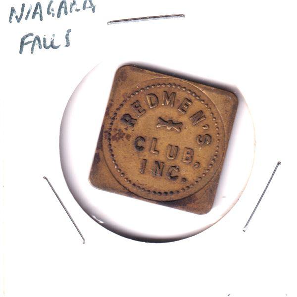 Niagara Falls Redman's club Inc. good for 10-cent token.