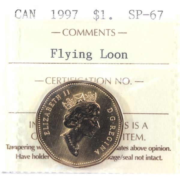 1997 Flying loon Dollar ICCS Certified  SP-67