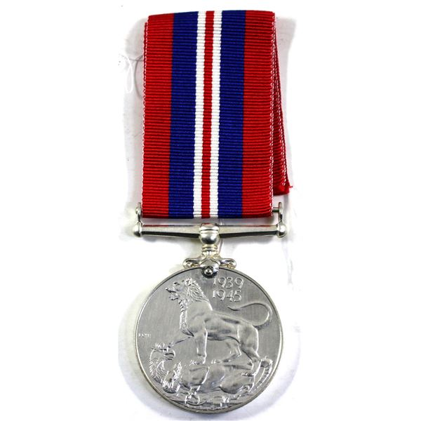 Canada 1939-1945 War Medal with original ribbon. Appears pristine!