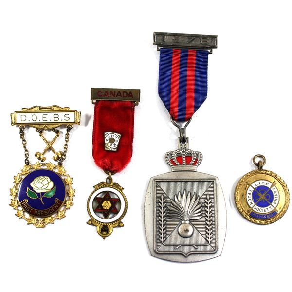 Lot of 4x Assorted Non-Military Medals. Please see description for more information. Some medals hav