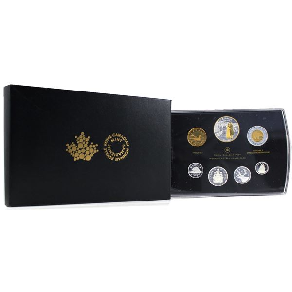 2014 Canada 100th Anniversary of WWI Silver Dollar Proof Set. Worn sleeve, but the set inside is in