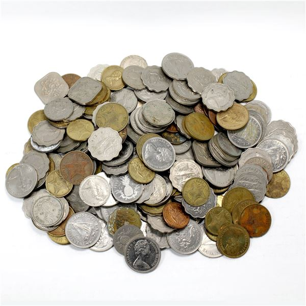 Lot of Mixed Bahamas Coinage. Total of 2.1 pounds!