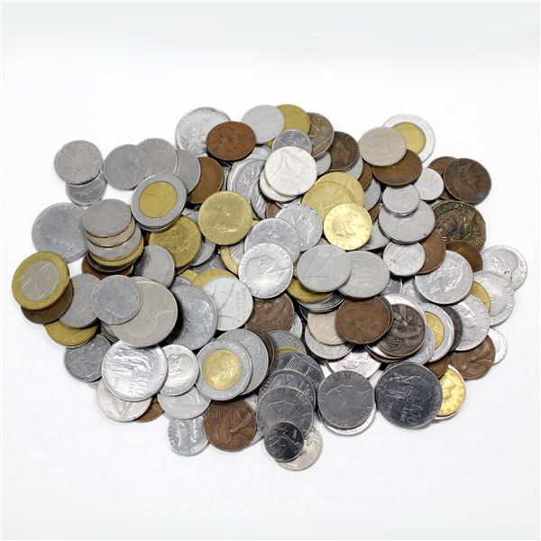 Lot of Mixed Italy Coinage. Good variety! Total of 1.8 pounds!