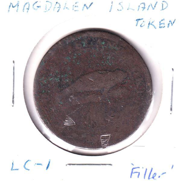 Magdalen Island LC-1 Token Filler condition