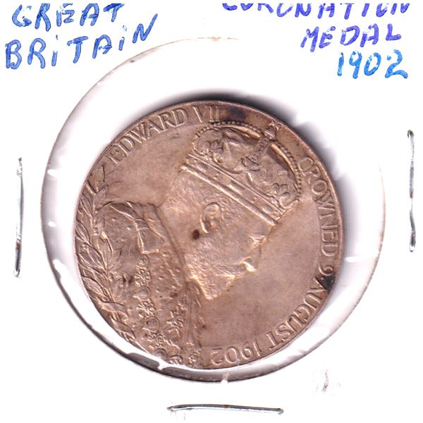 1902 Great Britain Coronation Medal