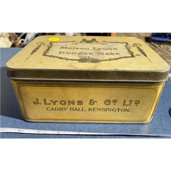 Maison Lysons Dundee Cake Tin