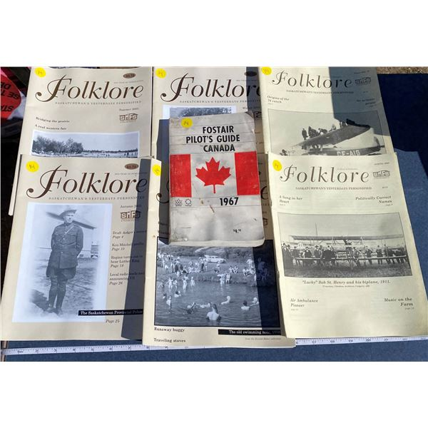 Folklore Books + 1967 Fostair Pilots Guide