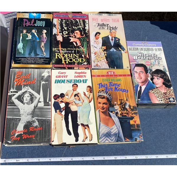 (7) VHS Movies