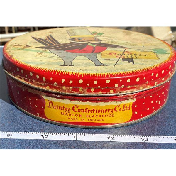 Confection Tin Daintee