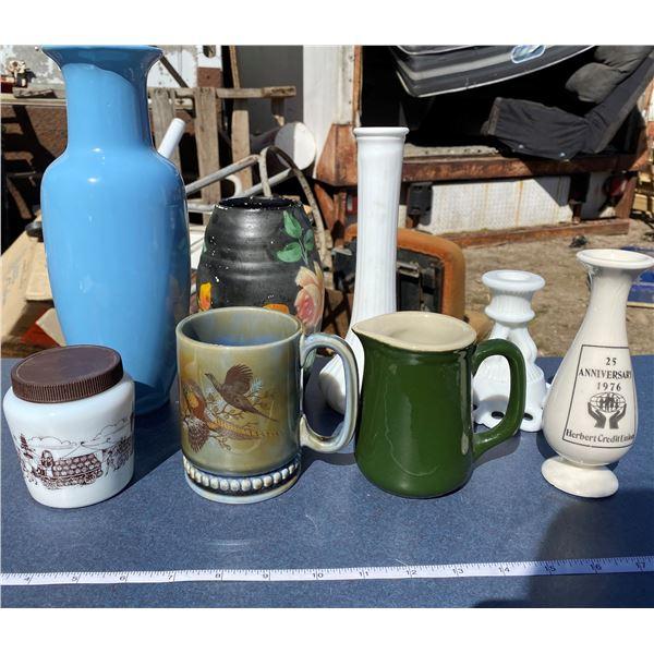 Box Of Vases + Mugs