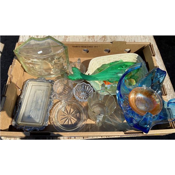 Lot Of Glassware (Some Chips)