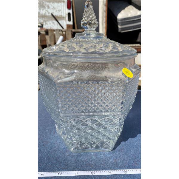 Comport + Lid (Glass)