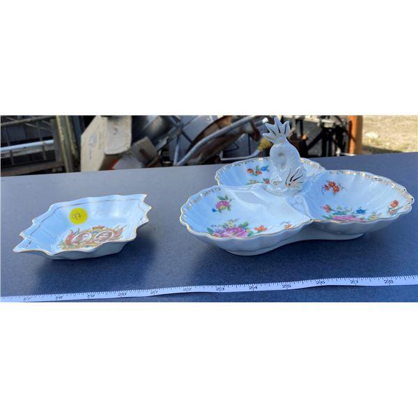Noritake Candy Dish + Royalty Candy Dish